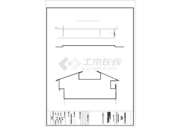 二层图纸简易外观自建房详细建筑施工设计图电机软启动柜6农村图片