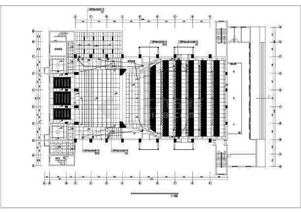 某高档影剧院装修电路电气施工图纸