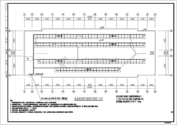 管道分布式光伏发电系统设计图(含说明)_cad图图纸年老机舱04屋顶宝来图片