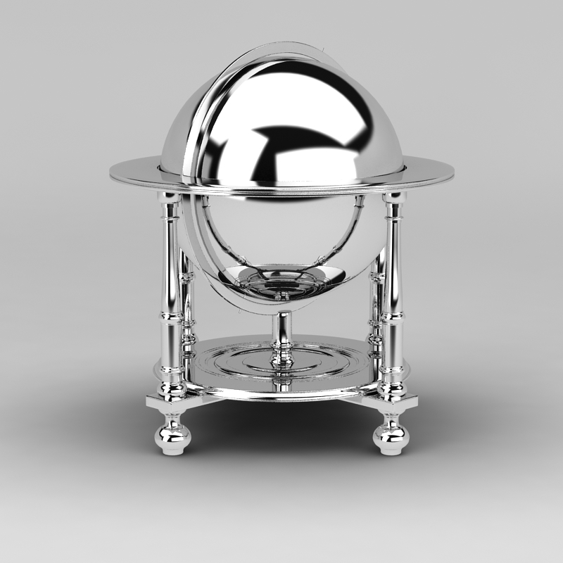 自助餐保温炉3D模型下载-图3