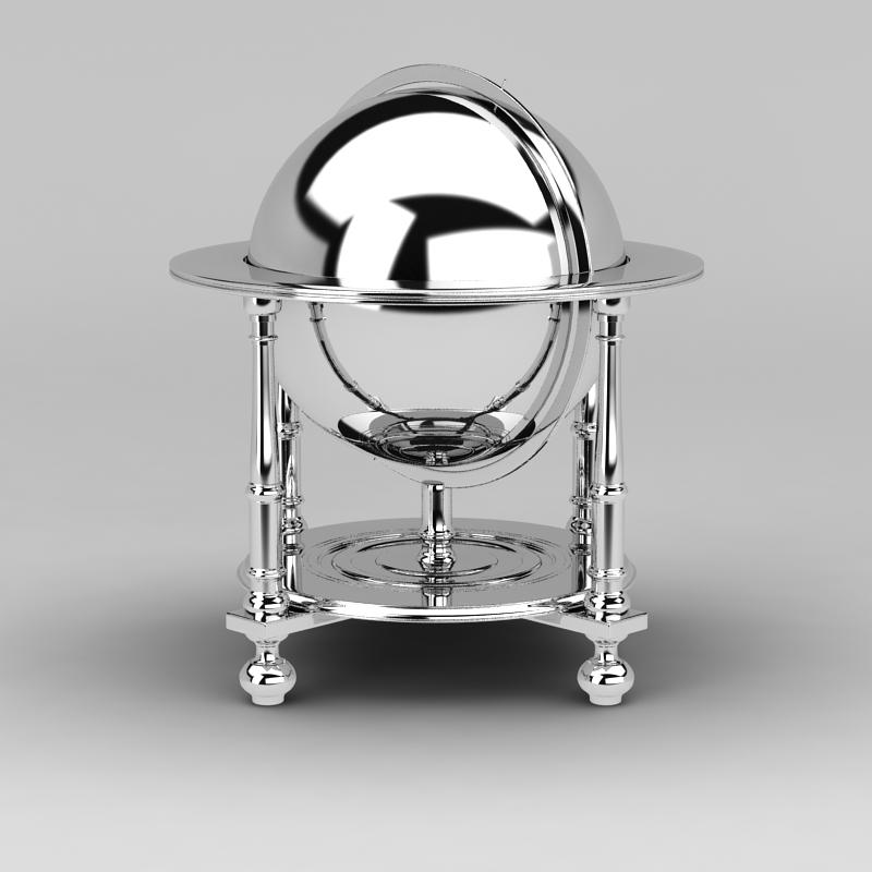 自助餐保温炉3D模型下载-图2