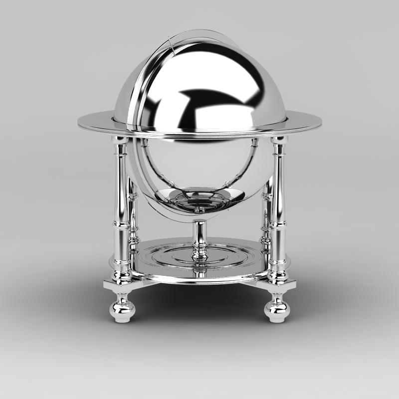 自助餐保温炉3D模型下载-图1