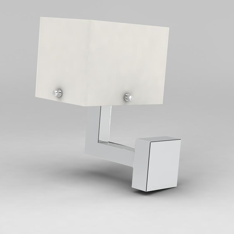 金属壁灯3D模型下载-图2