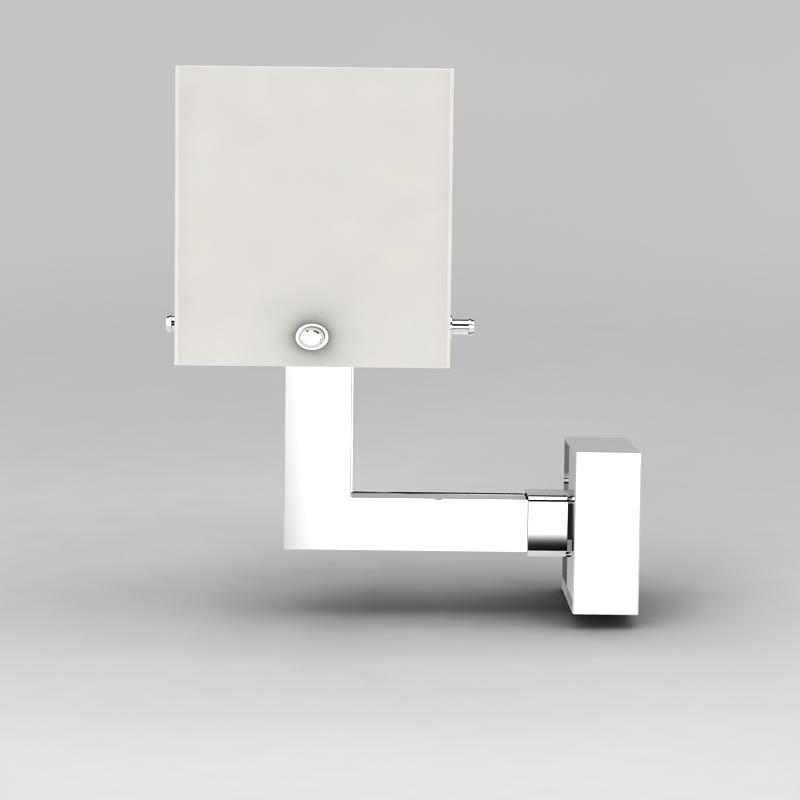 金属壁灯3D模型下载-图1