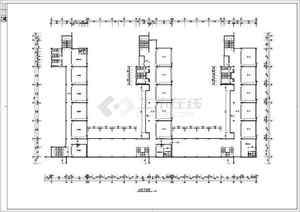 某小学教学楼建筑cad设计施工图