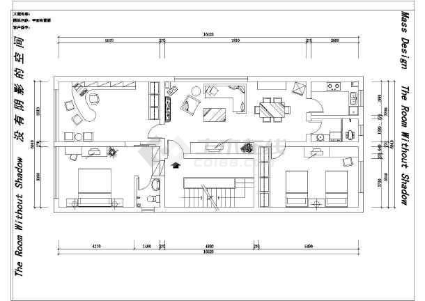 全套别墅室内装修设计cad施工图