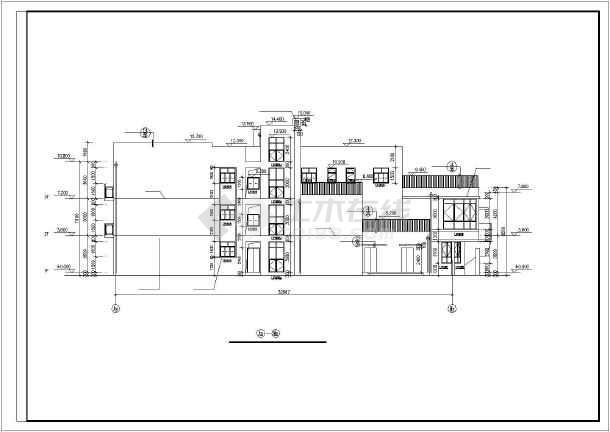 某多层特殊幼儿园平面建筑设计图纸