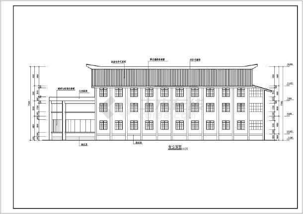 某地软件v软件中心CAD房子设计图平面文化设计图展示模型图片