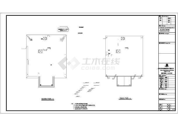10层办公综合楼给排水施工设计图-图1