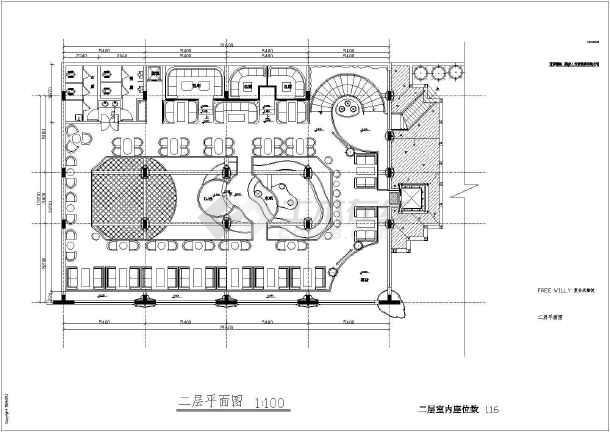 室内家装庭院绿化设计装修cad平面配置图图片