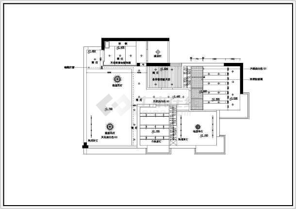 整套家装室内装修设计cad施工图