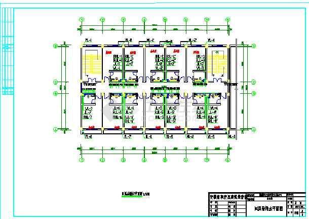 木业有限公司四层办公楼CAD给排水设计图-图3
