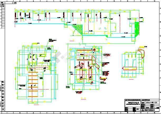 钢结构厂房设备基础结构施工设计图