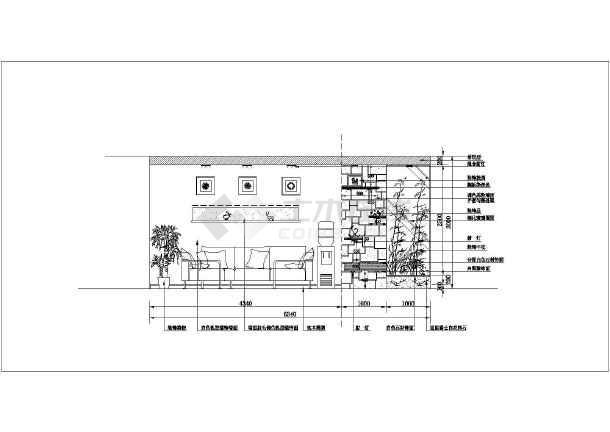 公寓室内精装修cad施工设计图大样图
