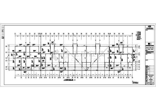 多层单元式小区住宅楼全套混凝土结构施工设计图