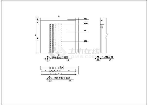 室内装修技术要求cad平面设计施工图cad天花吊顶作图图片