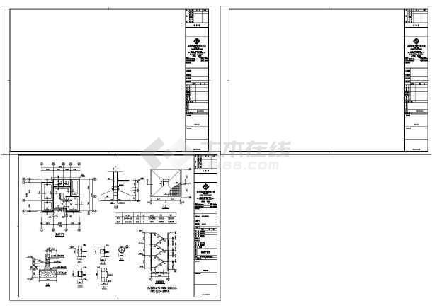 两层砖混结构新农村自建房建筑施工图(含效果图)