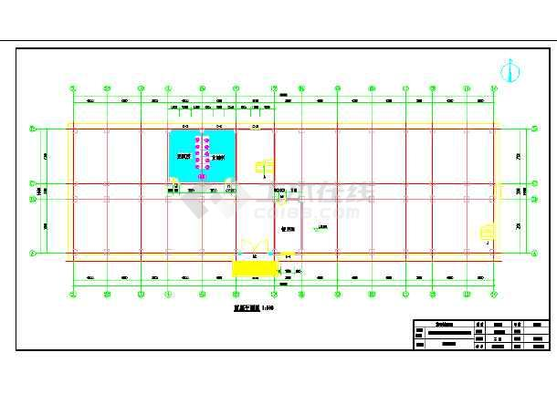 【毕业设计】5524平米六层带架空层中学教学楼建筑结构图