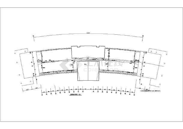 某办公楼给排水设计cad施工方案图-图3