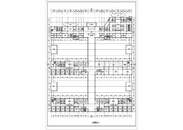 某两层精神病院建筑cad施工设计课程小建筑设计意思是什么图纸图片