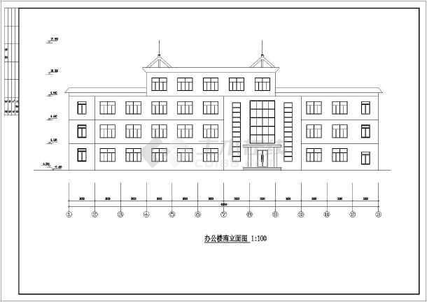 某多层商业办公楼全套建筑结构设计图
