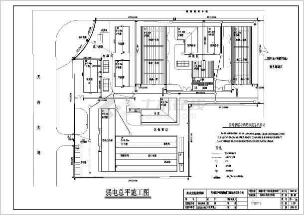 某地区电厂j监控全套设计电气图纸