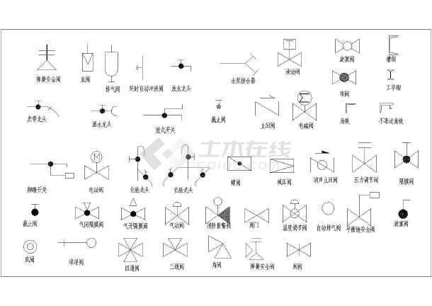 最新整理CAD零件图块大全v零件辊cad阀门图图片