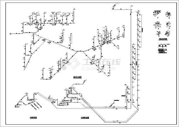 高层医院疗楼给排水建筑施工设计图-图3