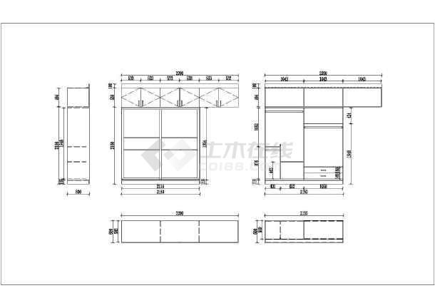 最新全套家居装修cad施工设计图纸