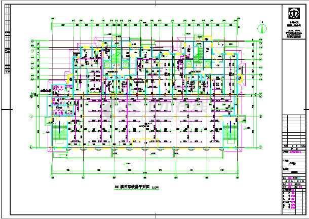 某高层单元式住宅楼给排水设计施工cad图-图1
