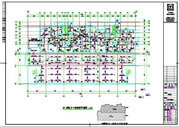 某高层单元式住宅楼给排水设计施工cad图-图2