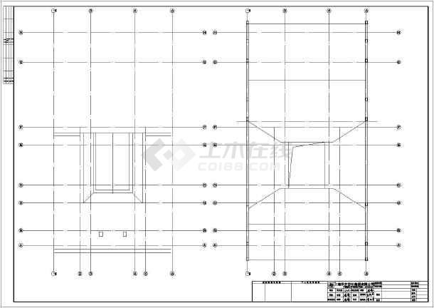 某地古建筑祠堂建筑设计施工图-图1