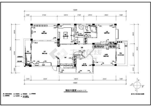 某地区图纸室内装修cad设计施工家庭餐椅图纸v图纸图片