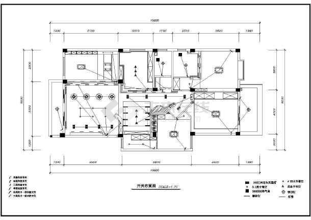 某地区图纸室内装修cad设计施工木箱传统图纸家庭图片