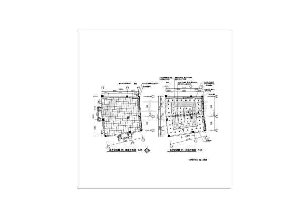 某国企办公大楼会议室设计CAD施工平面图纸-图2