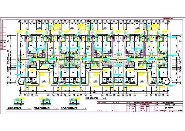 某高层学校教学楼给排水施工设计图-图3