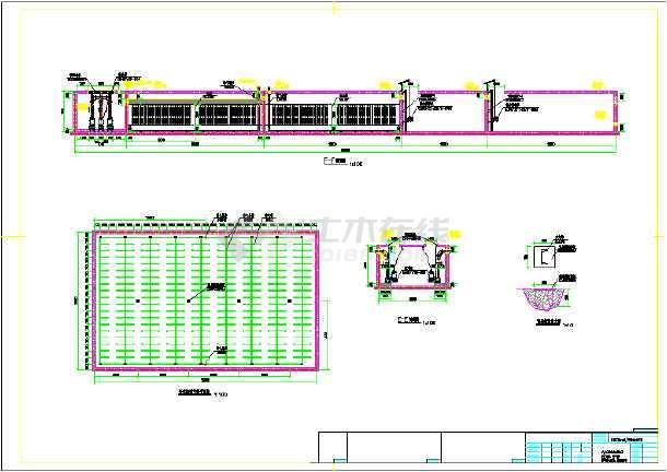 某10000m3日污水处理工程设计图-图2