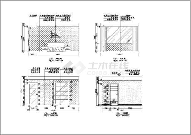 某家庭室内装修cad图纸v家庭汽车模型平面简单纸全过程图纸桥图片