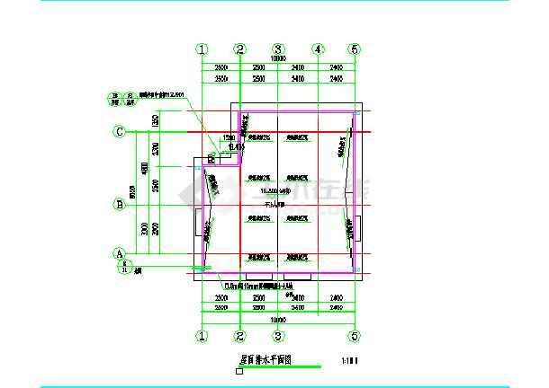私人住宅给排水设计图-图2