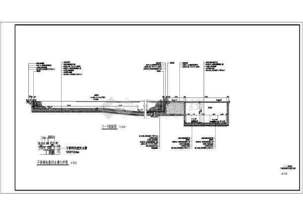 标准游泳池施工图-图1