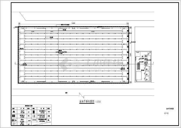 标准游泳池施工图-图2