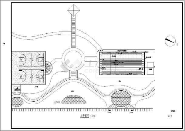 标准游泳池施工图-图3