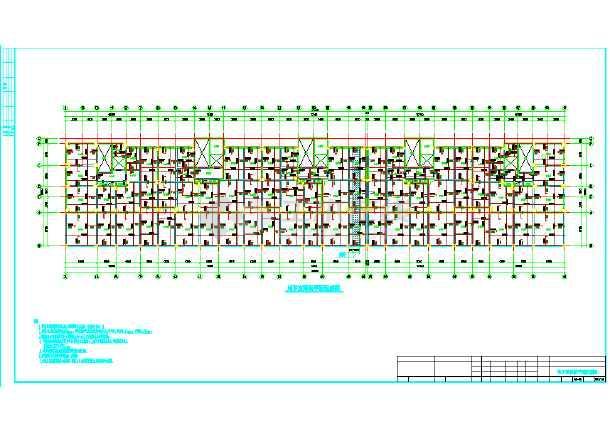某地区17层高层框支剪力墙结构住宅楼施工图-图1