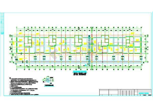 某地区17层高层框支剪力墙结构住宅楼施工图-图2