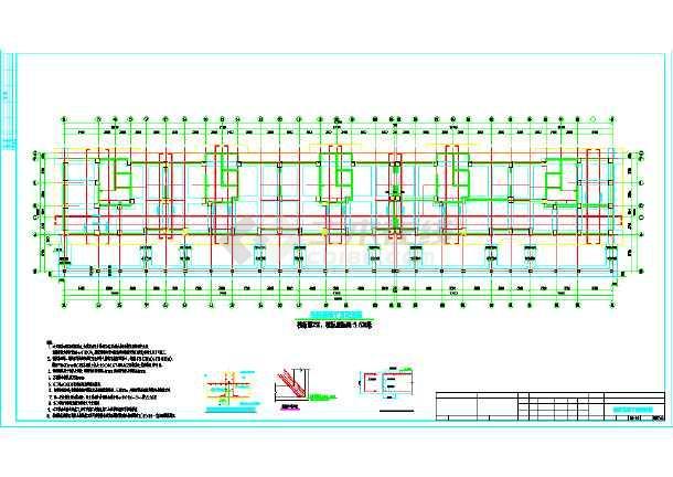 某地区17层高层框支剪力墙结构住宅楼施工图-图3