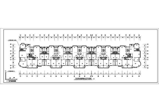 6F+1商住楼图纸cadv图纸电力全套步骤内容的会审及图纸图片