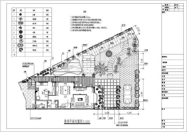 某单层平面住宅装修cad别墅v单层规划图_cad图长虹2116图纸图片