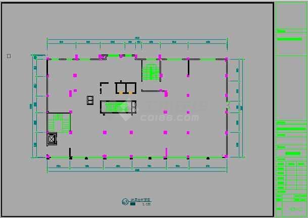 某地小型餐厅室内装修设计图(全集)-图1