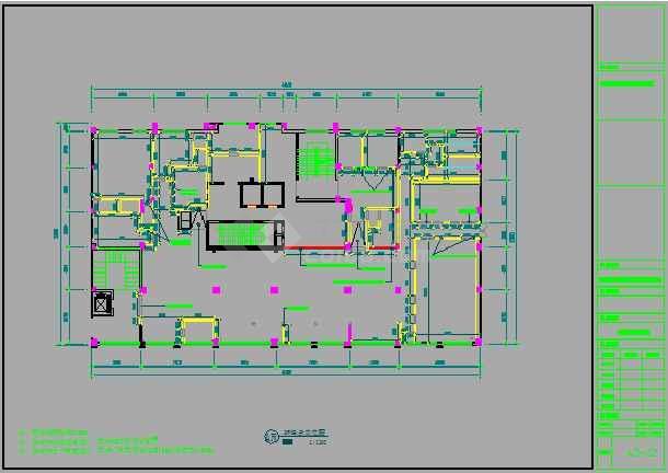 某地小型餐厅室内装修设计图(全集)-图2