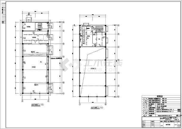 动力中心三菱圆球压缩机原理CAD示意图cad电机图片